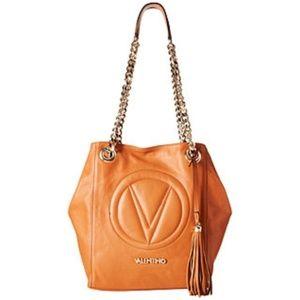 """Valentino """"BONA"""" Bag/Camel Color NWT."""